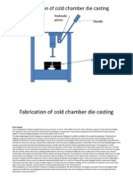 Fabrication of Cold Chamber Die Casting