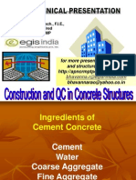 Construction and Quality Control for Concrete Structures by D.v.bhavanna Rao