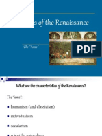 Hallmarks of the Renaissance