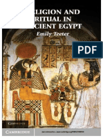 Religion and Ritual in Ancient Egypt - Teeter, Emily