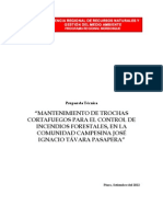 Propuesta Mantenimiento Trochas Cortafuegos, Agosto 2012.PDF