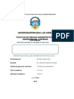 ADMINISTRACIÓN DE  DE UNA ASOCIACION CIVIL  PRESENTACION DE PRACTICA EN APELIMA