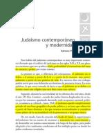 06. Judaísmo contemporáneo y modernidad. Adriano Moreno Weinstein