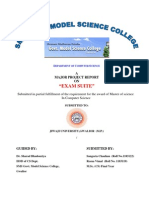 Sms Govt. Model Science College Project Front