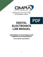 Ece digital Lab Manual 2207-2011