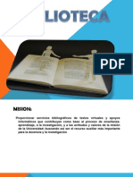 Presentacion Biblioteca