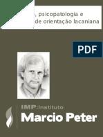 SOUZA LEITE, Marcio Peter - Diagnostico, Psicopatologia e Psicanalise