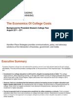 HPS the Economics of College Costs