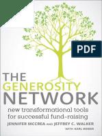 The Generosity Network by Jennifer McCrea and Jeffrey C. Walker - Excerpt