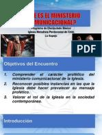 QUÉ ES EL MINISTERIO COMUNICACIONAL
