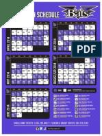 Louisville Bats Schedule 2014