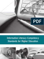 Information Literacy Competency