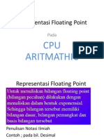 (7) Representasi Floating Point