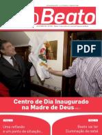 """Boletim Informativo """"O Beato"""" - edição de Novembro 2008"""