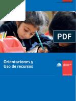 201304241015090.Orientaciones Uso Recursos SEP2013