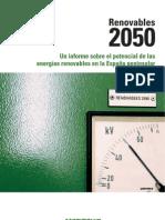 Renovables 2050
