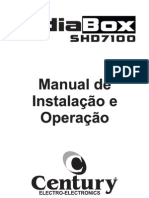 Manual Do MidiaBox SHD 7100