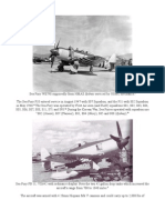 Sea Fury Korean Operations