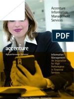 Information Management in Financial Services