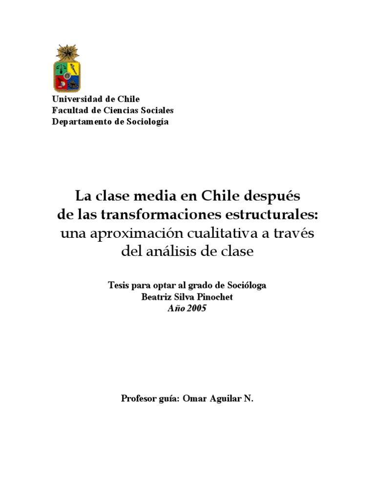 La clase media en Chile despué