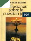 Jean Paul Sartre Reflexiones Sobre La Cuestion Judi