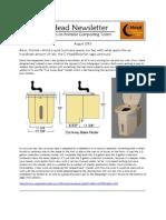 Aug 2013 Newsletter