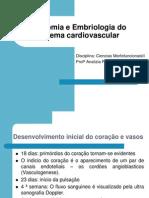 Aula 01 Anatomia e Embriologia e Fisiologia Cardiaca