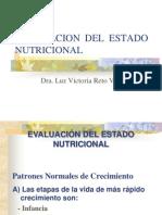 EVALUACION NUTRICIONAL 2013