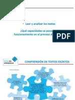 PPT 6- Capacidades de comprensión de textos