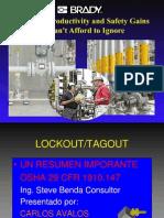 Bloqueo Lockout