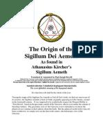 Athanasius Kircher SDA - Interpretation