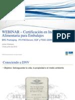 ESP WEbinar - Certificações Embalagens de alimentos