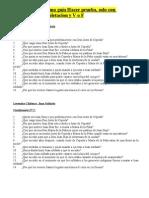6º B PREPARACIO PRUEBA LIBRO Leyendas Chilenas cuestionarios