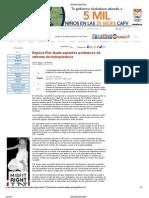 22-08-2013EXPLICA FLOR AYALA ASPECTOS POLEMICOS DE REFORMA DE TRANSPARENCIA