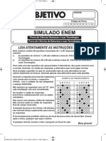 Simulado Objetivo2013 P.1