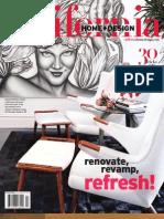 California Home + Design Magazine - July 2011