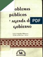 Luis Felipe Aguilar Villanueva_problemas Publicos y Agenda de Gobierno
