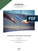 Trancisión en instituciones comerciales- REVISTA PUENTES