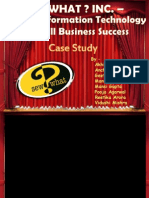 Sew What Inc- Case Study