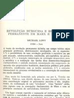 LOWY, Michael Discurso09 Revolucao Burguesa e Revolucao