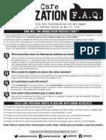 FAQs on Child Care Unionization