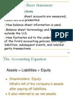 ACCT303 Chapter 4A - Balance Sheet, Teaching Pp