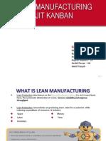 Lean Manufacturing-JIT KANBAN