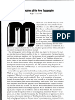 The Principles of the New Typography