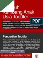 Tumbuh Kembang Anak Usia Toddler