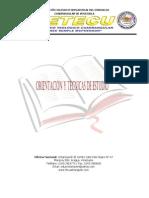 Guia de Orientacion y Tecnicas de Estudio