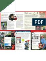 The Vegetable Gardener's Bible (brochure)