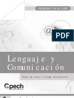FL-232 Tipos de Texto y Formas Discursivas