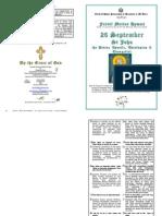 2013 - 26 Sept - St John the Divine