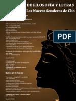 Programa Senderos de Clío IV, 2013